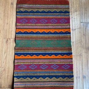 Hand-Woven Wool Rug