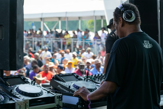 Chosen Few DJ Jesse Saunders