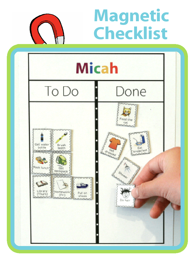 Find out how capable your kids are with this Magnetic Checklist from The Trip Clip. Perfect for setting up a morning routine, an after school checklist, a bedtime routine, or a chore chart. You can even easily print your own magnets!