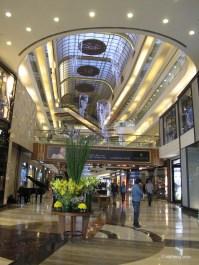 Interior of Palladium, shopping mall