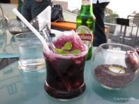Grape, blackcurrant, mint