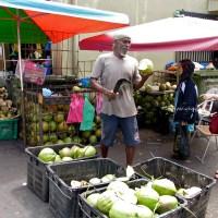 My favourite coconut at Abu Siti Lane | Penang