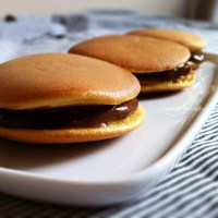 Recipe: Chocolate Dorayaki (Japanese pancake sandwich with chocolate custard)