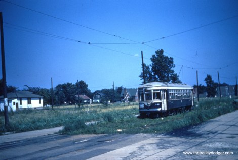 The 141 somewhere along the route between LaGrange and Cermak Road.