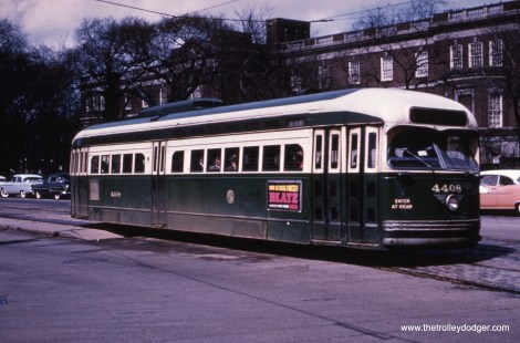 CTA 4408 on route 22.