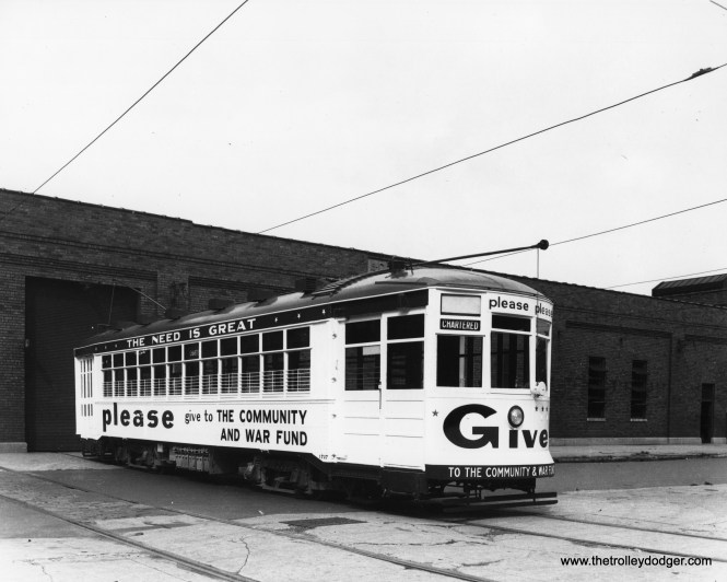 CSL 1727 at West Shops, circa 1944. (CSL Photo)