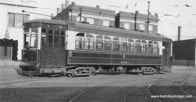 CSL 5702 at Archer-Rockwell Station (Carhouse). (Joe L. Diaz Photo)