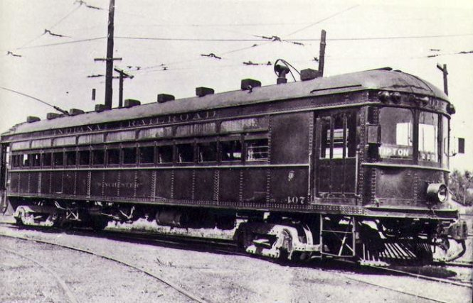 Indiana Railroad car 407, the