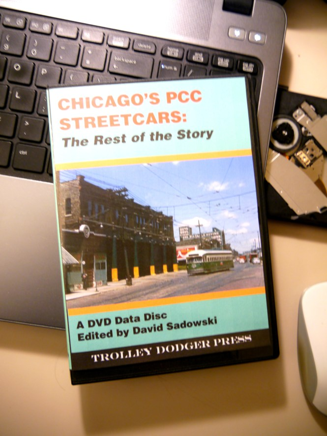 Thanks to the generosity of George Trapp, all of the photos in today's post are being added to our E-book Chicago's PCC Streetcars: The Rest of the Story.