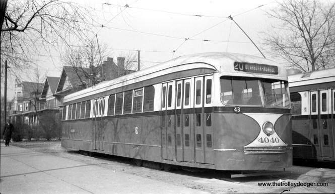 CSL 4040 at the Madison-Austin Loop on December 15, 1942.