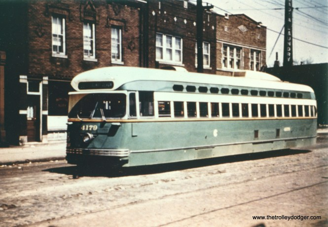 An early color photo of CSL 4179.