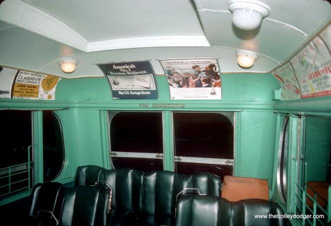1053 interior. (John Smatlak Photo)
