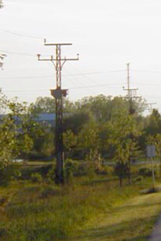 (Facing west toward Mundelein, near Green Bay Jct.)