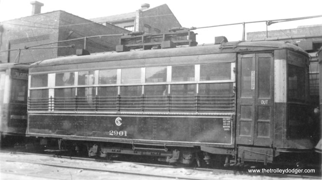 CSL Birney 2901, also seen in another picture elsewhere in this post.