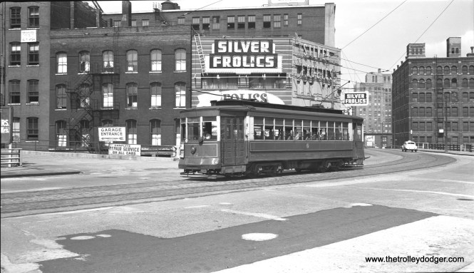 #28 Stony Island cars also went to the Pier at times. After Indiana & Stony went Bus, Cottage (for awhile) was extended to Grand & Wabash to State, but not to the Pier.