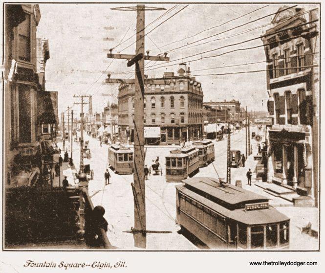 Elgin trolleys.