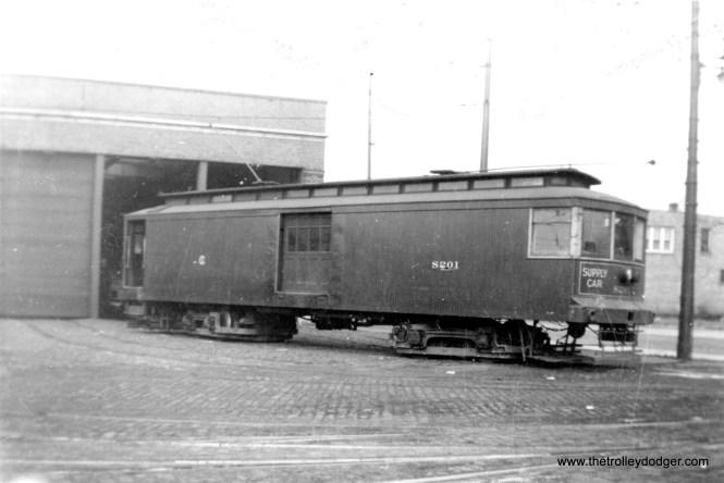 CSL supply car S201. (Earl Clark Photo)