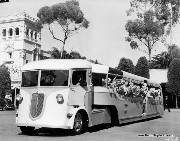 Looks like new buses were used at the 1935-36 California Pacific Exposition in San Diego.