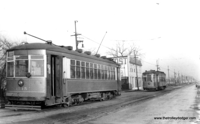 CSL 1745, presumably near Devon and Kedzie. (Edward Frank, Jr. Photo)
