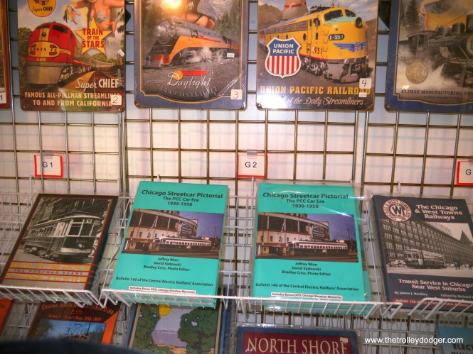 Autographed copies of CERA B-146, which covers the entire history of PCC streetcars in Chicago in voluminous detail, are available in the IRM bookstore.