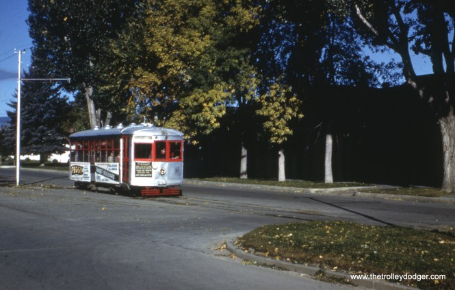 21 at a passing siding in northwest Fort Collins in October 1950.