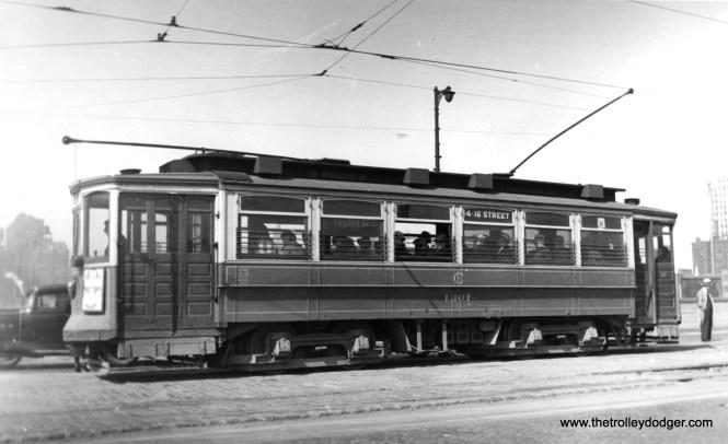 CSL 1301 on the 14-16th Street line. (Edward Frank, Jr. Photo)