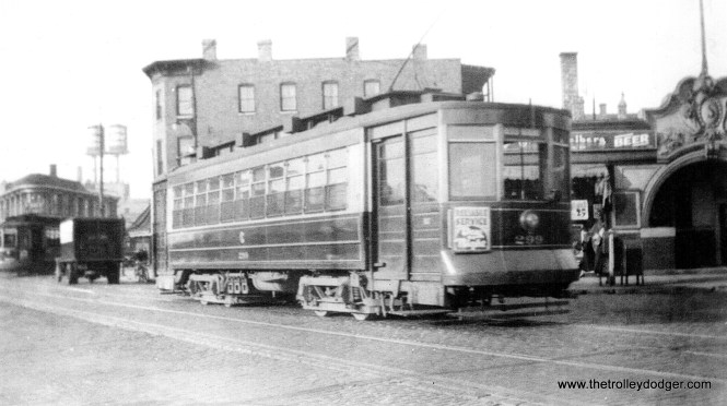 CSL 299 at Clark and Halsted in 1935. (Edward Frank, Jr. Photo)