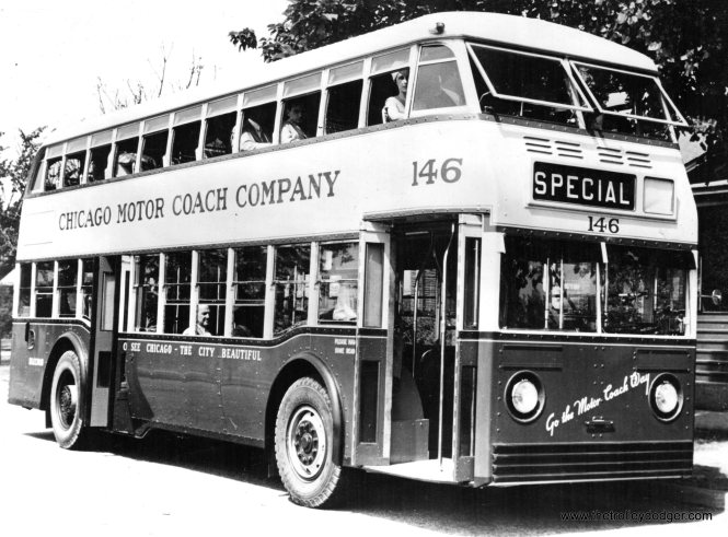 CMC double-decker 146 in July 1936.