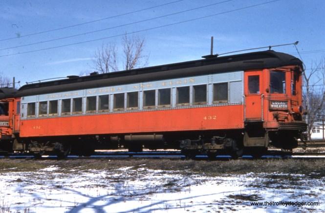CA&E 432 in winter.