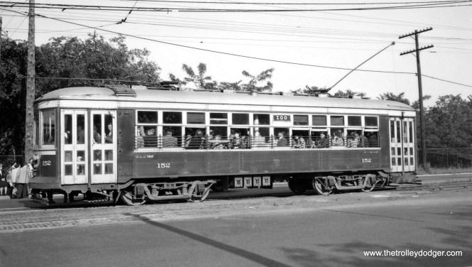 C&WT 152 on the LaGrange line. (Joe L. Diaz Photo)