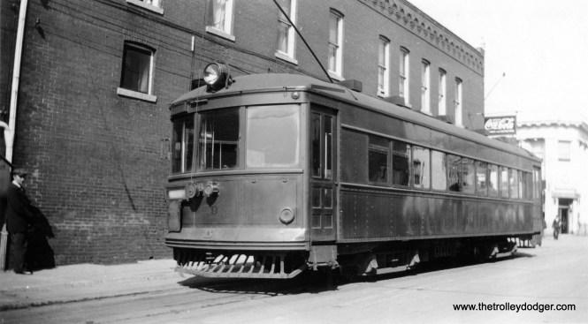 Gary Railways 9 at Hobart, Indiana in 1934.