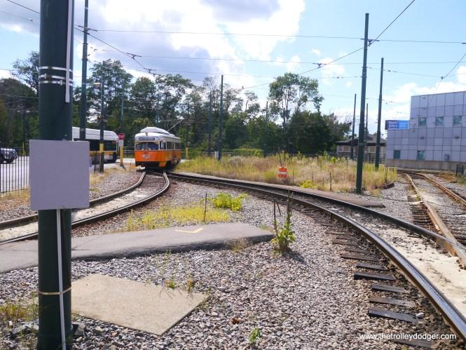 The turnaround loop at Mattapan.