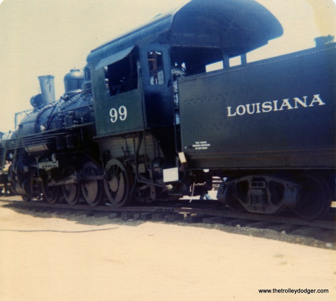 Steam at Union, Illinois, August 8, 1976.