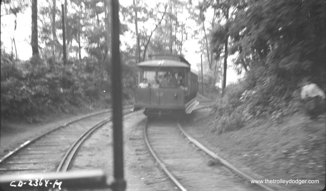 "Car 32 ""at speed"" in May 1941."