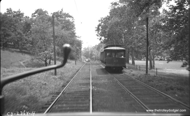 #31 in May 1941, as seen from another car.