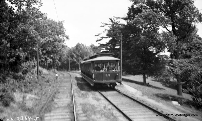 #23, as seen from a passing car in May 1941.