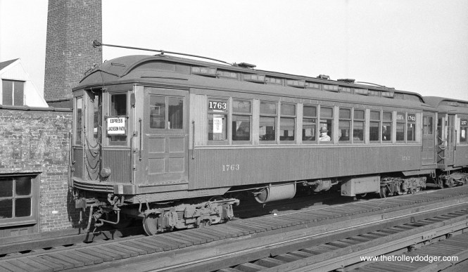 CRT 1763 is at Cermak Road on September 19, 1934.