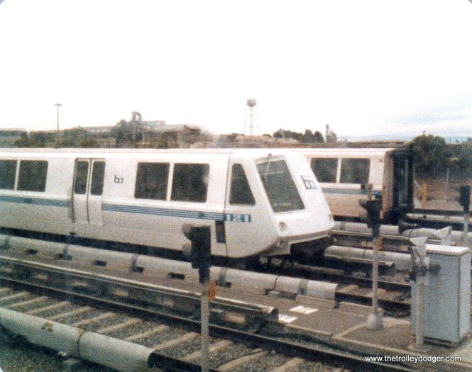 Another view of the BART Oakland yards.