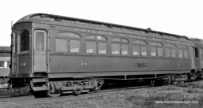 CA&E 14, built by Niles in 1902.