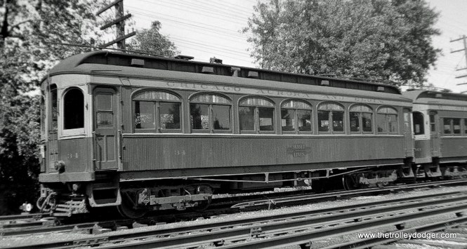 CA&E 34, built by Stephenson in 1902.