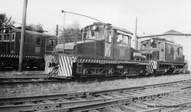 Niagara, St. Catharines and Toronto Railway locos 14 and 18.