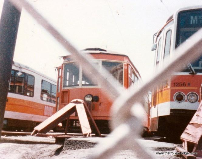 TM 978 at San Francisco Muni's Geneva Yard in September 1983.