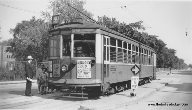 870 at the south end of Rt. 40 in St. Francis - Kinnickinnic & St. Francis Ave. (Robert Genack collection)