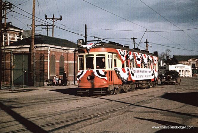TM 660 at North Side Station, 3-31-48.
