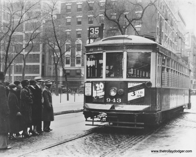 943 at 3rd and Michigan - TM publicity shot. (Robert Genack collection)