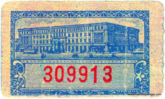 An early TM car check (back).