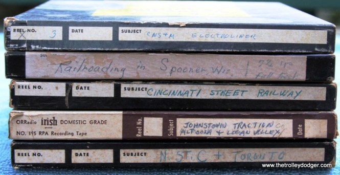 1 Selection of Steventon tapes mostly unreleased