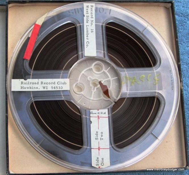 25 master tape Railroad Record Club number 16