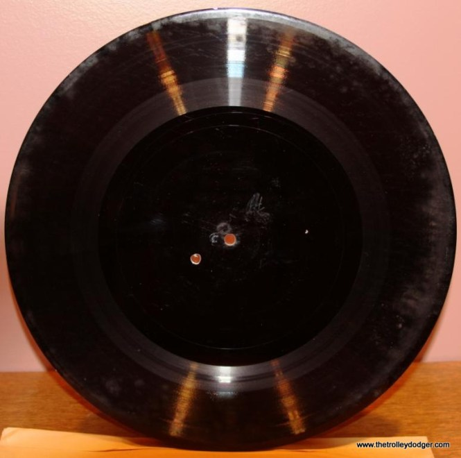 5 Back of RCA test pressing for Illinois Terminal