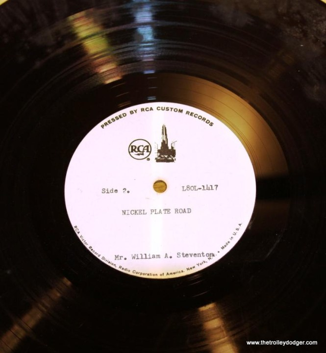 7 Close up of RCA test pressing for NKP